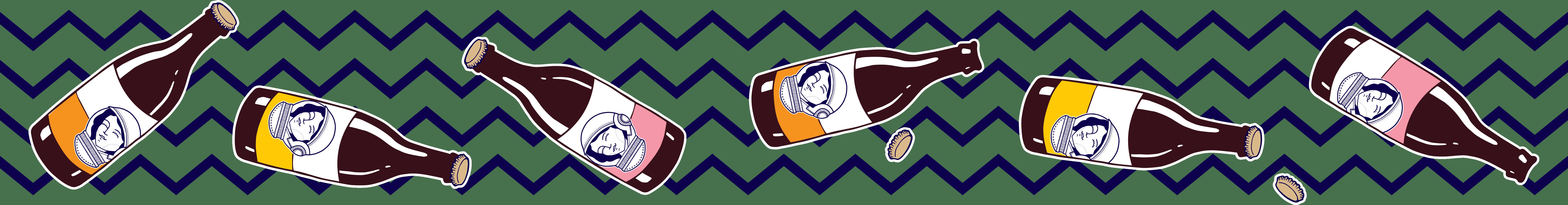 Illustratie van de flesjes 250ml van Aard'g